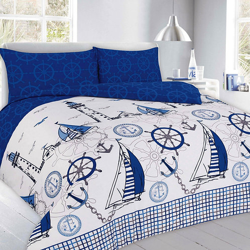Jake Print Duvet Covers that open on 3 sides. Double Size