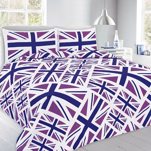 Union Jack Print Duvet Covers that open on 3 sides. Double Size