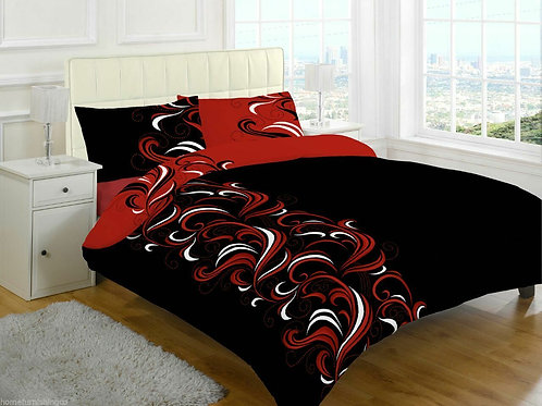 Jacob Print Duvet Covers that open on 3 sides. Single Size