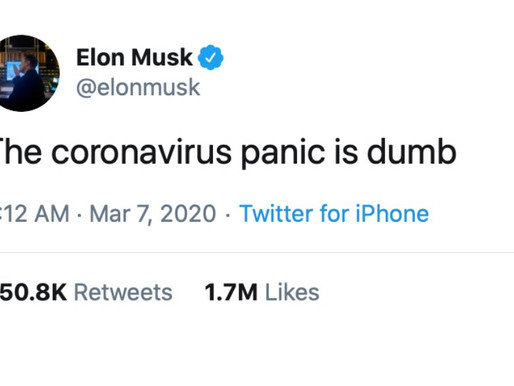 Elon Musk says Tesla will make ventilators for hospitals if there is a shortage.