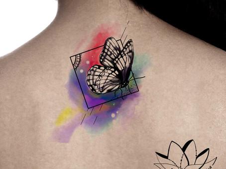 Butterfly tattoo symbol
