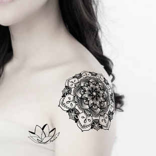 Soulder mandala tattoo design