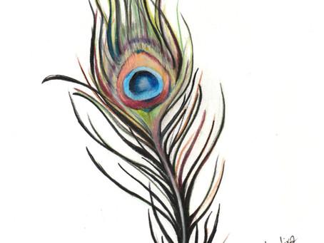 Tattoo symbols / Feather