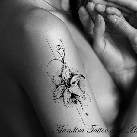 Tattoo symbols / The lily or lilium