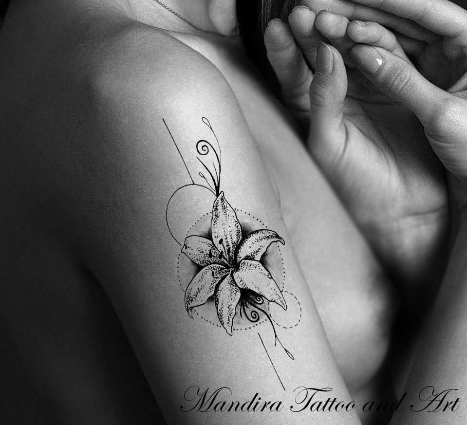 Tattoo symbols the lily or lilium lily or lilium is one of the most ancient flowers with the strongest of fragrances and a wonderful and deep meaning izmirmasajfo