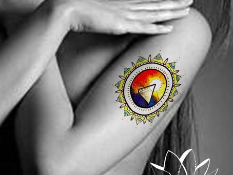 Tattoo symbols-Pyramid