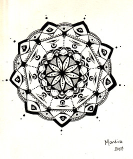 Sufi Mandala by Mandira Antar