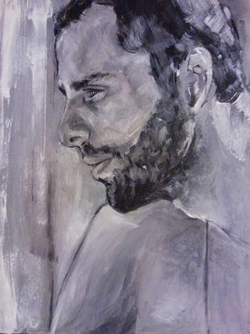 Portrait in b&w