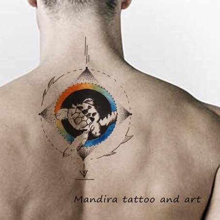 Tattoo symbols-The turtle and Tortoise