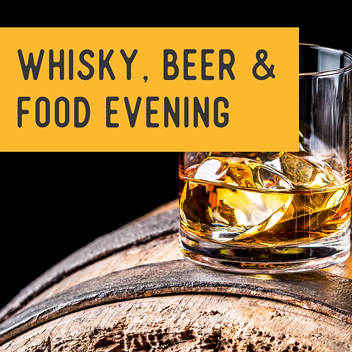 Winter Warmer Event: Whisky, Beer and Food to Match
