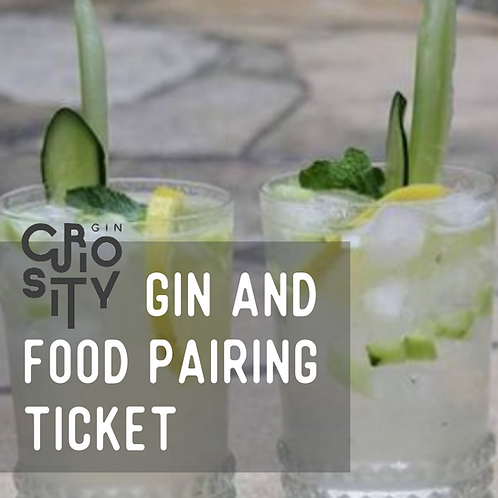 An Evening of Gin Tasting and Food Pairing