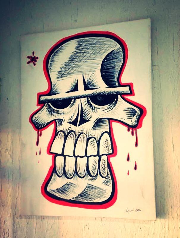 Grim Pintura Acrílica