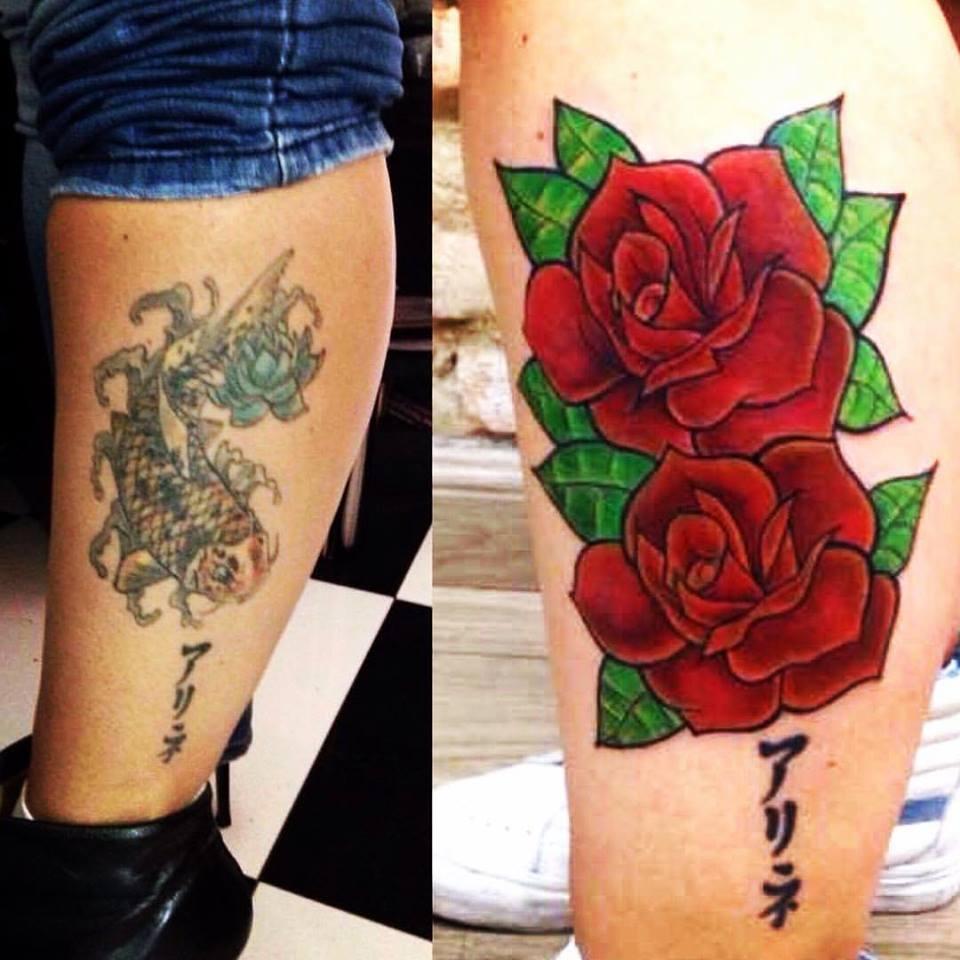 Cobertura Rosas Vermelhas