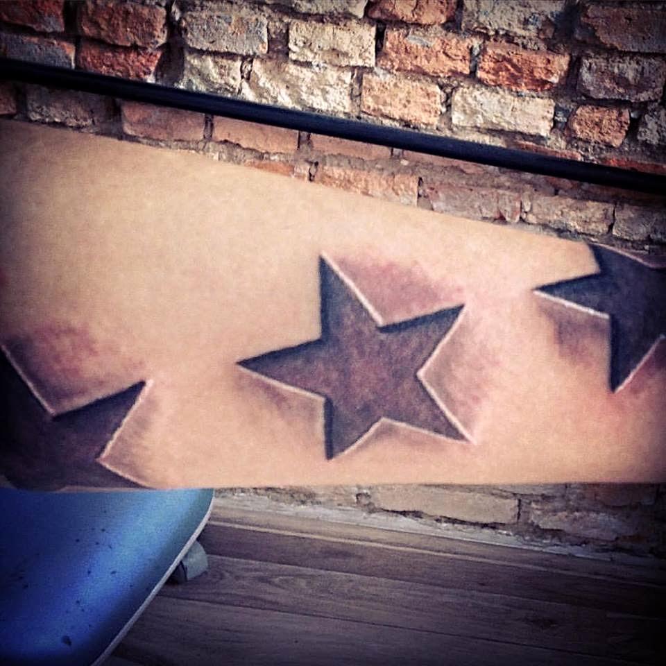 Estrelas 3D