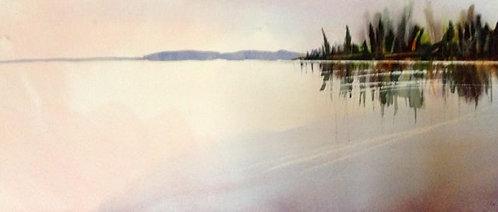 Dawn on Atikameg Lake Manitoba