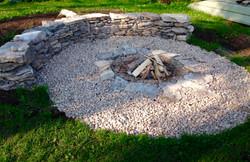 Dry Stone Fireplace