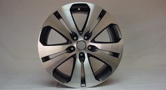 Diamond Cut Kia Alloys with Palladium Inlay