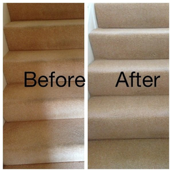 Carpet on Stairs