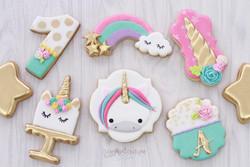 Galletas set unicornio