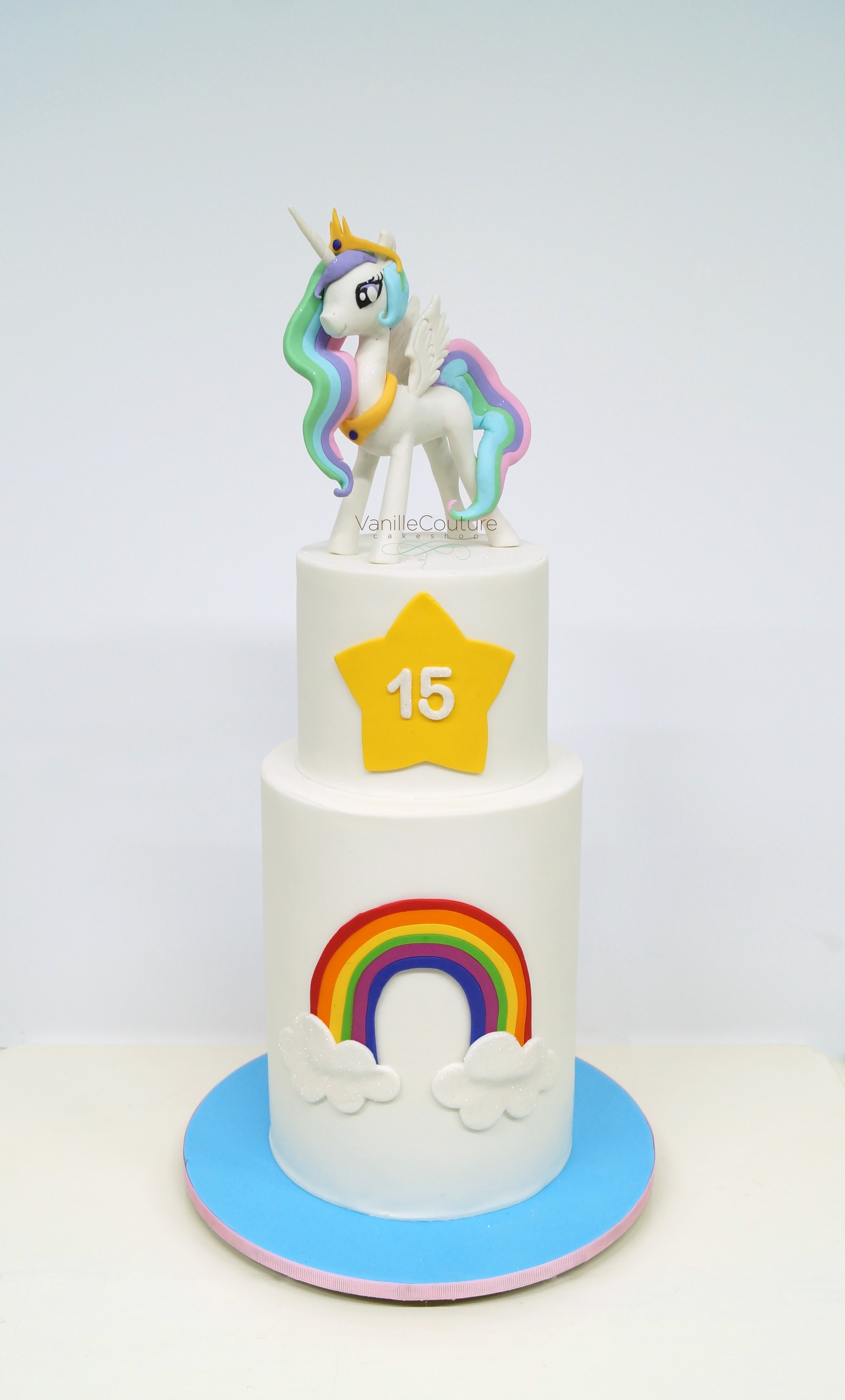 Pastel my little pony princesa celes