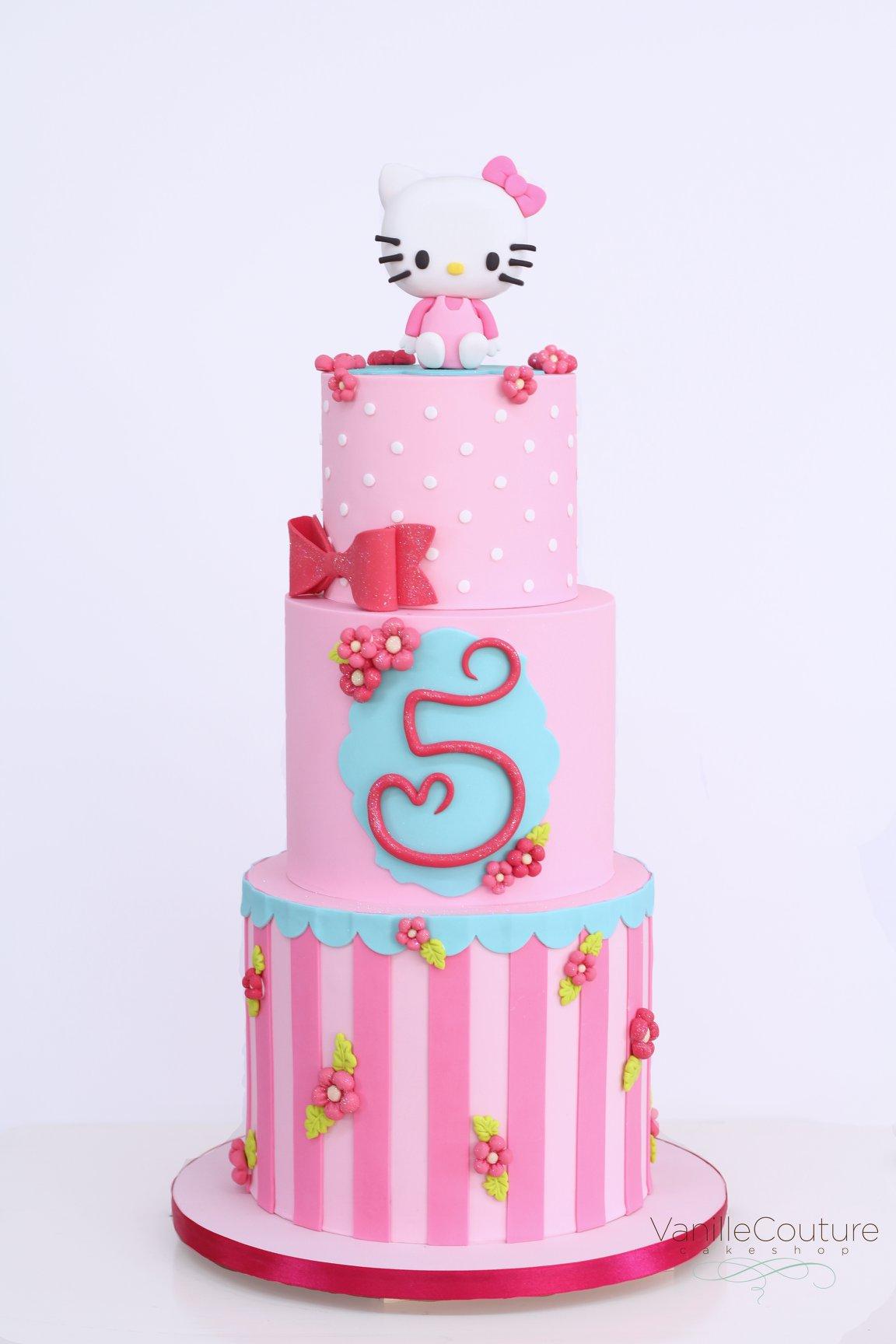Pastel de Hello Kitty