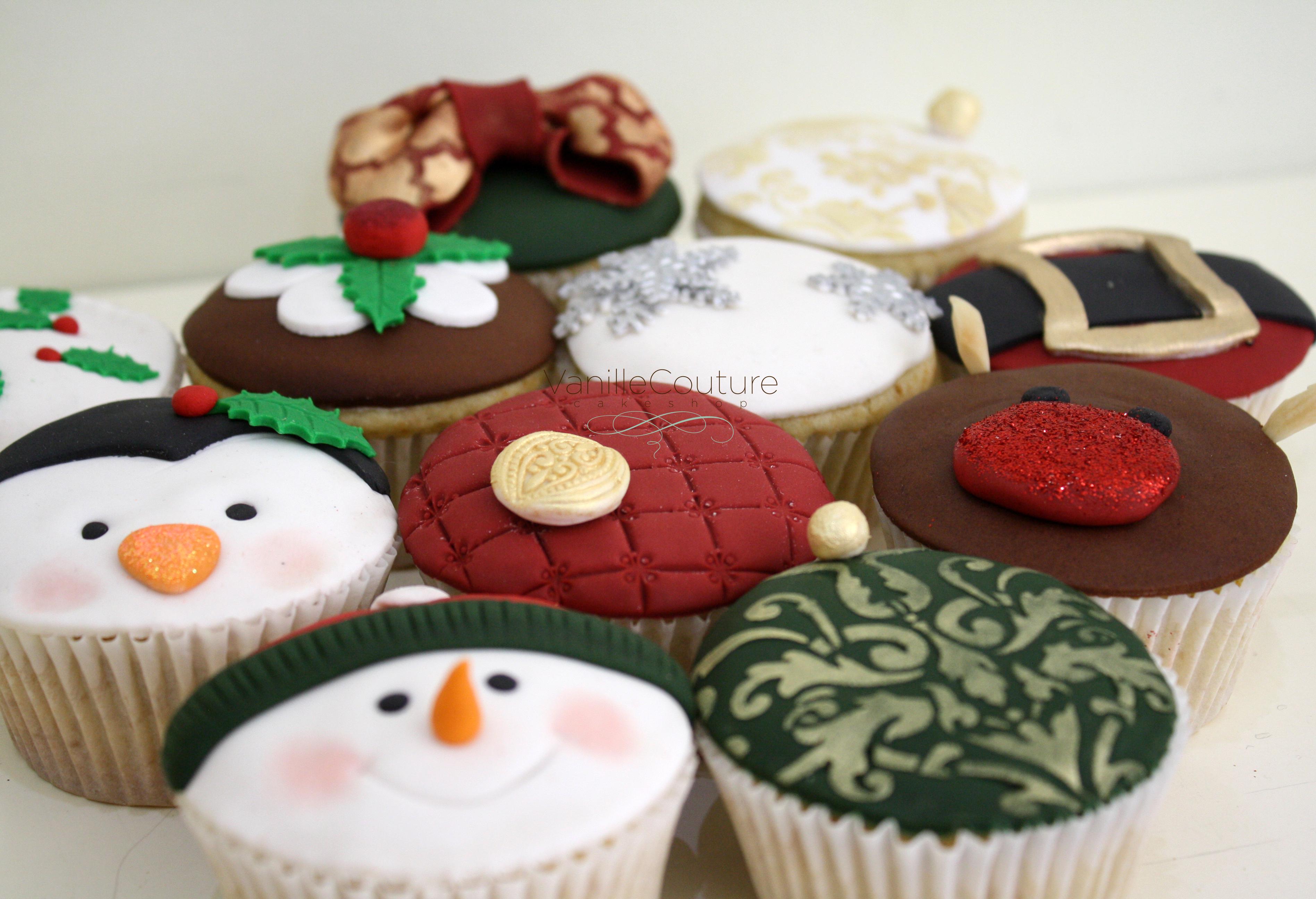 Cupcakes Navidad 2013