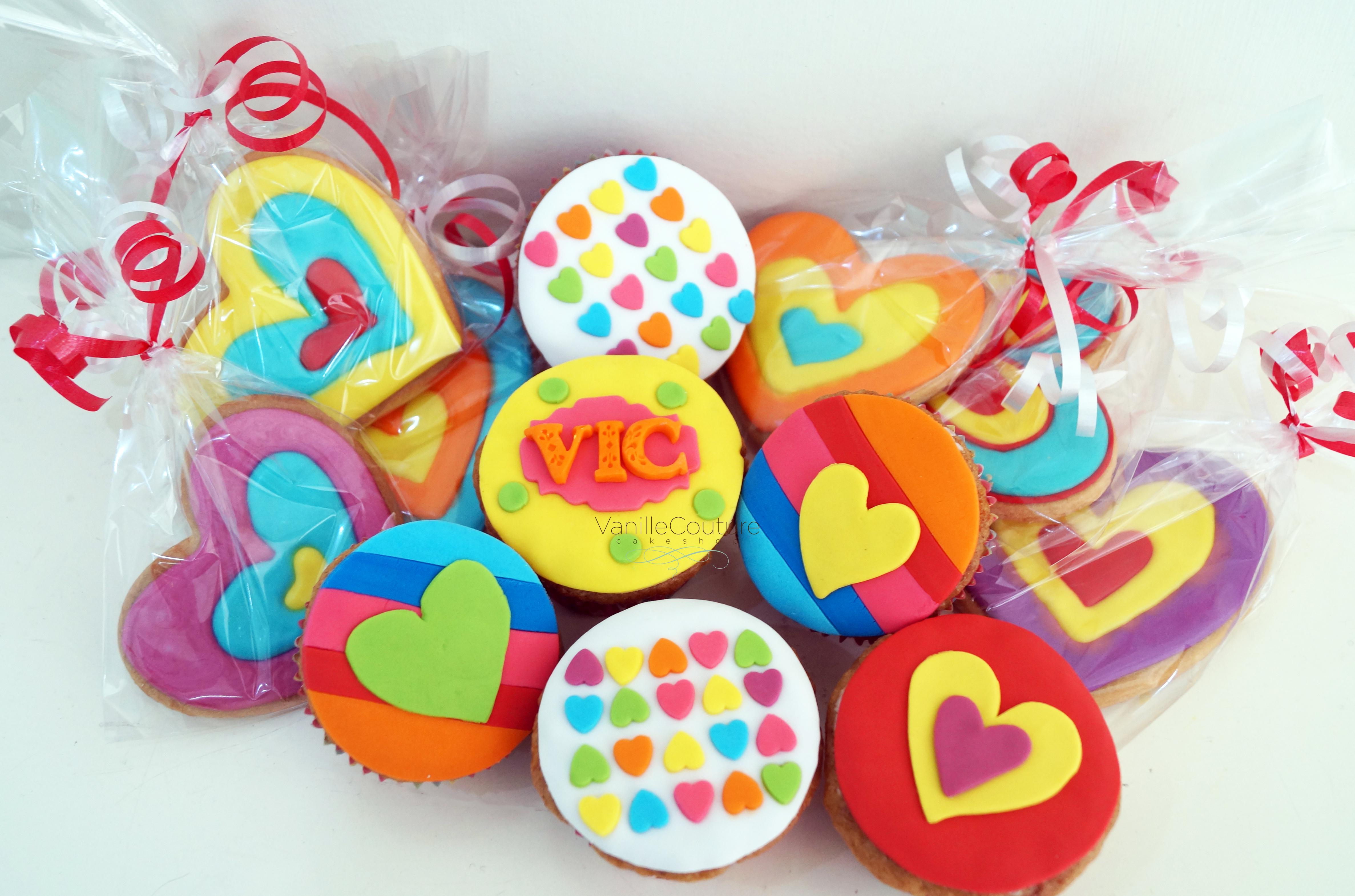 Cupcakes y galletas Agatha Ruiz