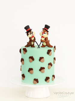 Chip & Dale Cake