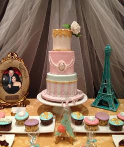 """Mesa de boda """"Paris"""""""