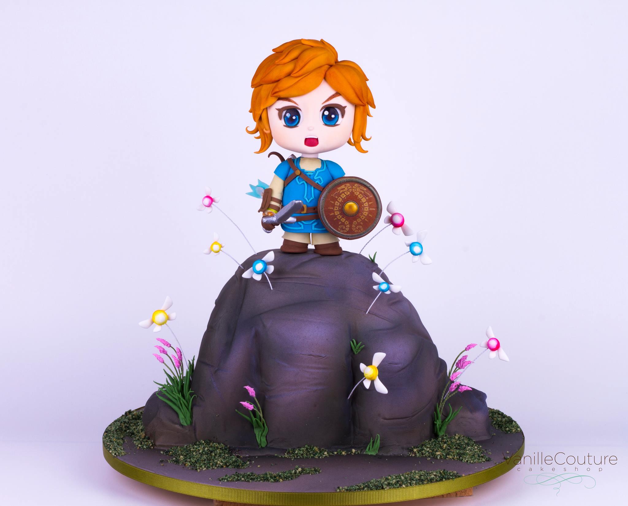 Pastel de Zelda