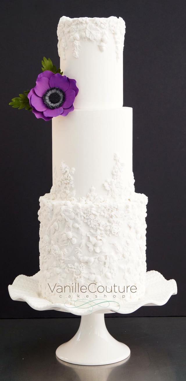 Bas relief pastel de boda relieve