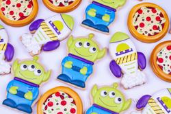 Galletas decoradas con royal icing de Toy Story