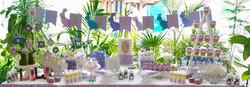 Mesa de postres Bunny baby shower