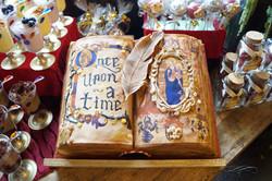 Pastel libro medieval 3D