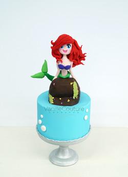 Pastel Ariel la sirenita