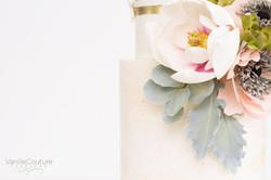 Flores de azúcar magnolia