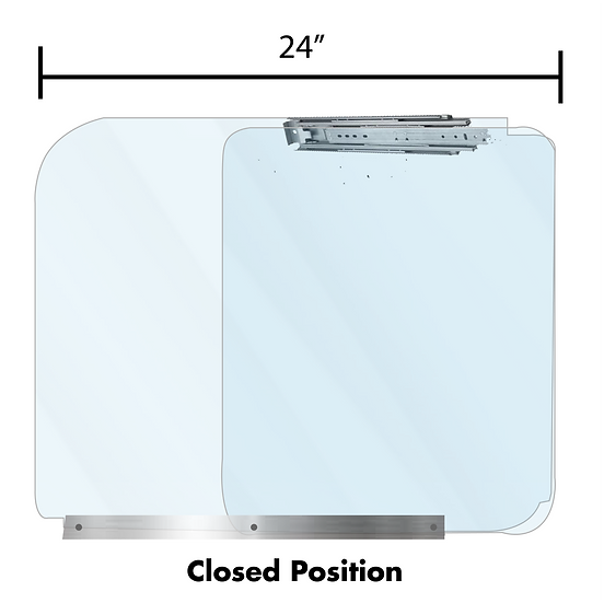 Sliding Desktop Partition