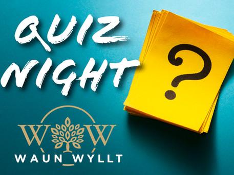 Quiz Night - 12th November
