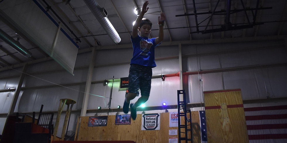 Ultimate Game Night Parkour Fundraiser