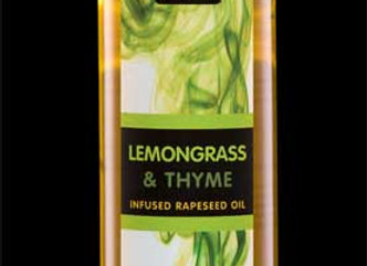 Lemongrass & Thyme infused Rapeseed Oil