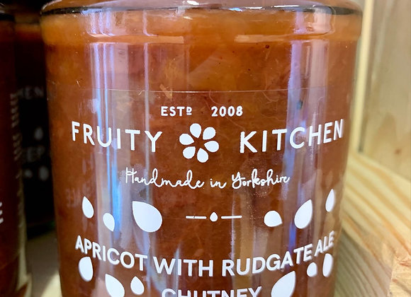 Apricot Chutney with Rudgate Ale