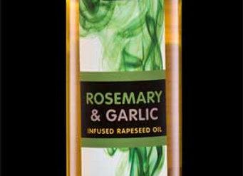 Rosemary & Garlic infused Rapeseed Oil