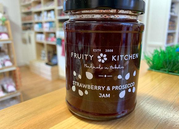 Strawberry and Prosecco Jam