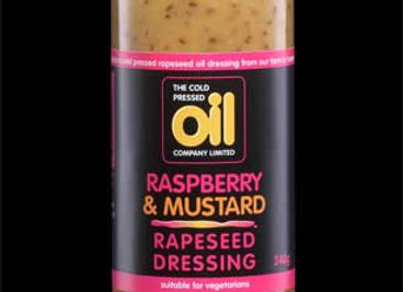 Raspberry & Mustard Rapeseed Dressing