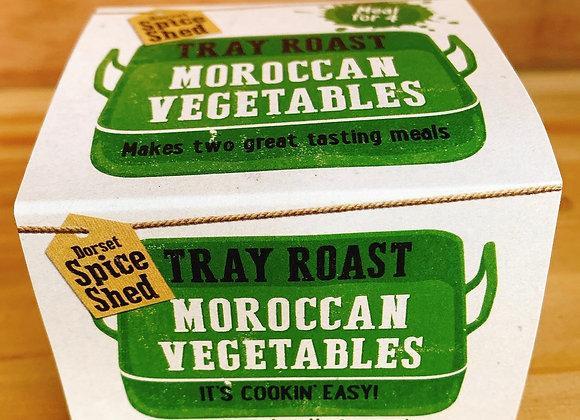 Moroccan Vegetables Tray Roast