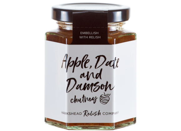 Apple Date & Damson Chutney