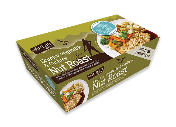 Country vegetable & Cashew nut roast