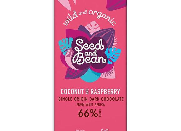 Coconut and Raspberry