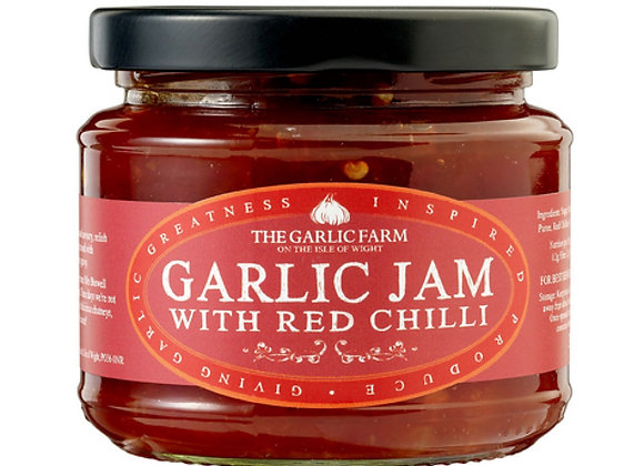 Garlic Jam with Red Chilli