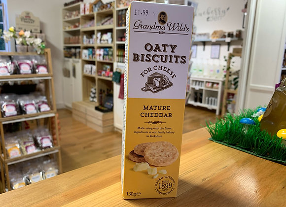 Oaty Biscuits for Cheese Mature Cheddar